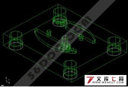 摩托车塑料挡板注塑模具设计(cad+mastercam)