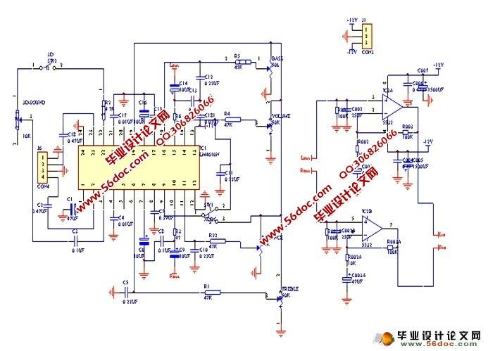 驳接成桥式推挽btl电路,以取得更大的功率以及更好的音效;此外此音响