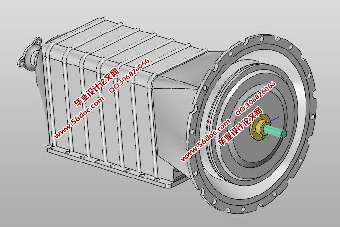 行星齿轮式动力换挡变速箱设计(含CAD零件装配图,SolidWorks三维图)(论文说明书13200字,CAD图纸10张,SolidWorks三维图) 变速箱作为机动车辆中的核心部件的一种,它工作时,发动机通过V带传动带动变速箱转动,从而间接地带动了车轮的转动,这样车辆就可以行驶了。 本文介绍了行星齿轮式动力换挡变速箱的结构组成、工作原理以及主要零部件的设计中所必须的理论计算和相关强度校验,以及对其结构进行创新设计,该变速箱的优点是传动链短、效率高、易加工、使用和维护都很方便,较适合在恶劣的环境下工作,最
