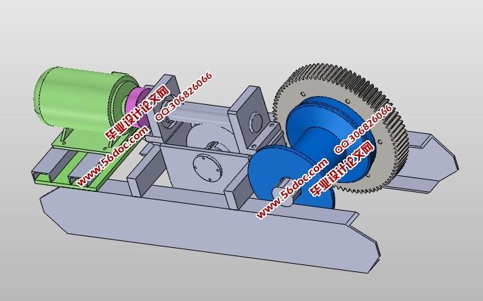建筑卷扬机传动机构设计(含cad零件装配图,solidworks