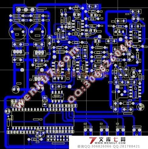 华南自激式超声波电路图